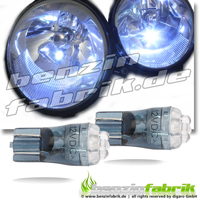 4er LED Glassockel
