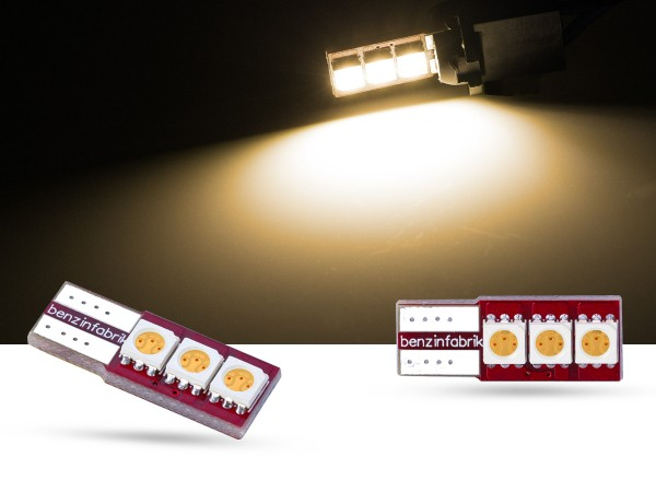 Red Series 3er SMD w5w, Innenraum, warmweiss